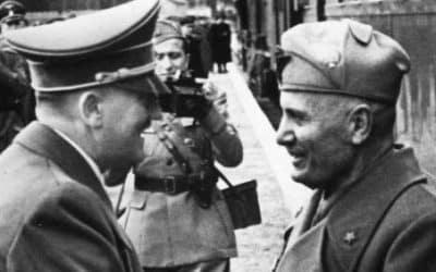 Pourquoi Mussolini s'est tourné vers Hitler ?