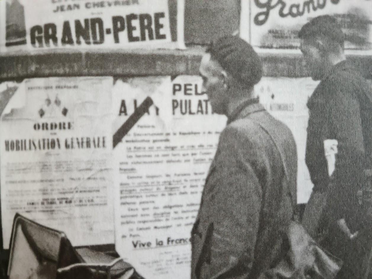 La France déclare la guerre à l'Allemagne