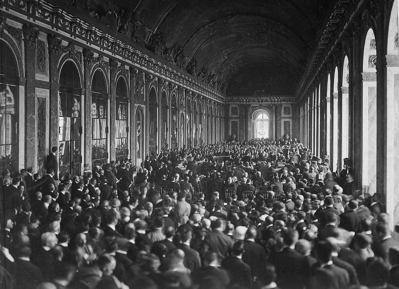 Traité de Versailles - Signature
