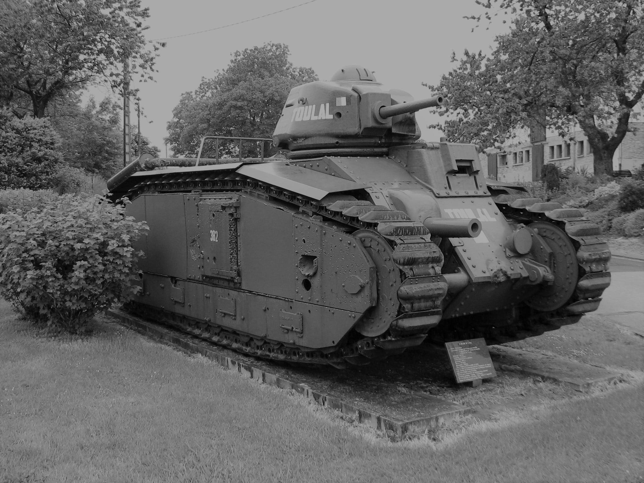 Char B1 bis de l'armée française en 1940